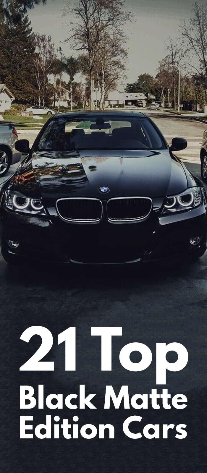 21 TOP BLACK MATTE EDITION CARS.