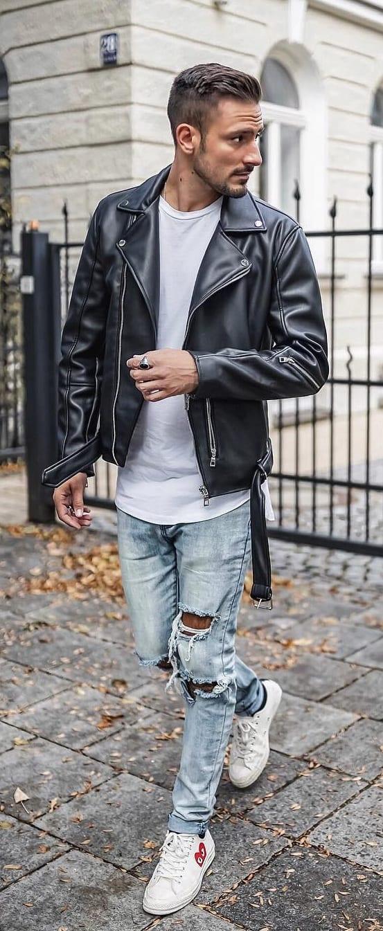 Cool Biker Jackets For Men