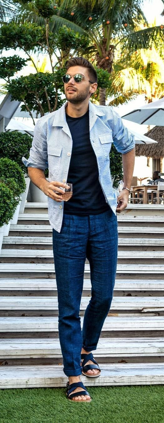 Cool Summer Outfits For Guys 2019