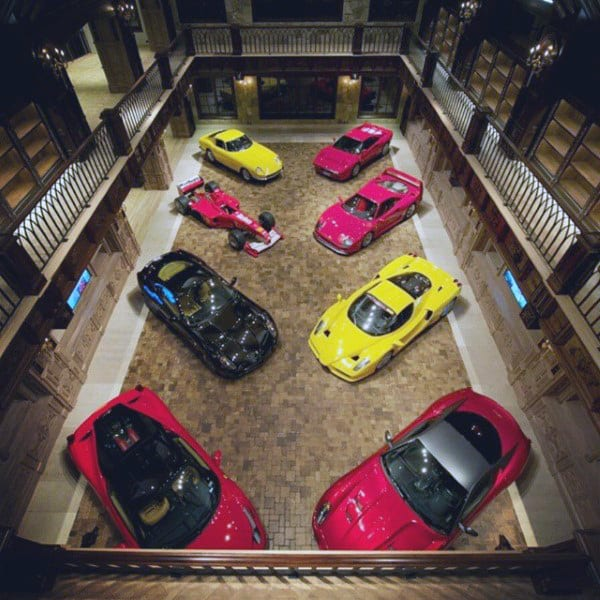 DREAM GARAGES FOR MANY CARS