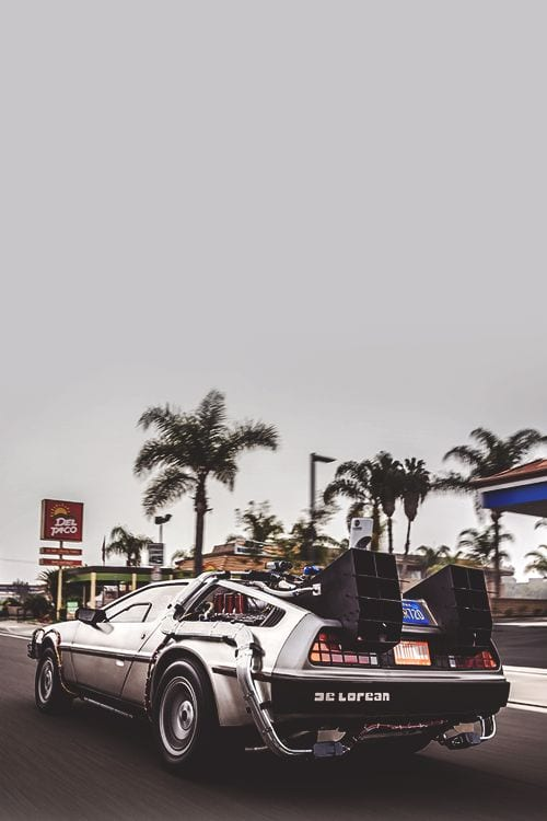DeLorean FUTURE CAR