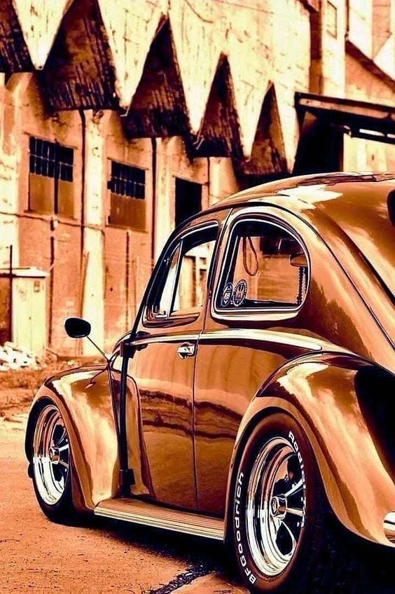 GOLDEN BEETLE CAR
