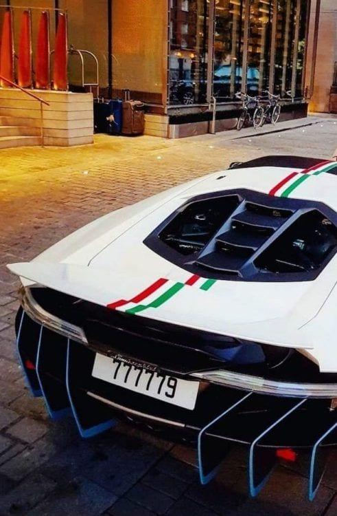 Lamborghini Centenario rare view wallpaper