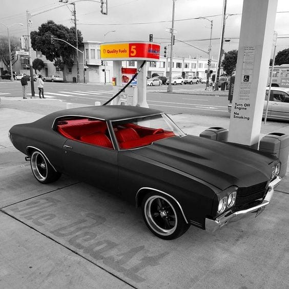MATTE MUSCLE CAR