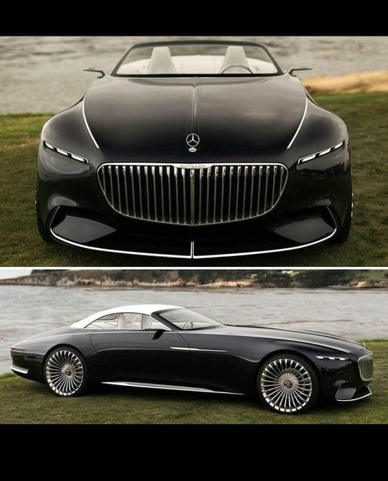 Mercedes Maybach Vision 6 concept car