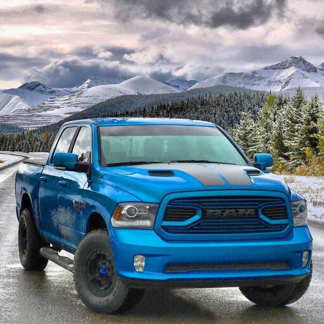 RAM BLUE TRUCK