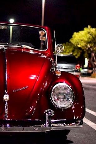 RED BEETLE CAR