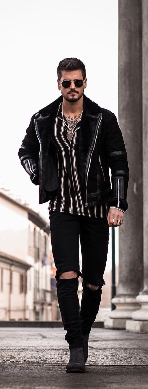 Stunning Biker Jackets For Guys To Try