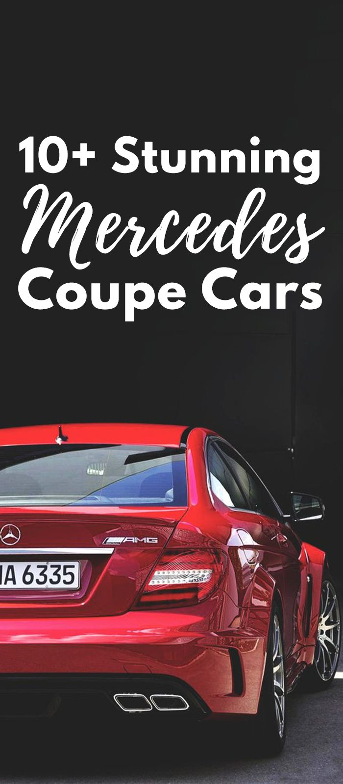 Stunning Mercedes Coupe Cars