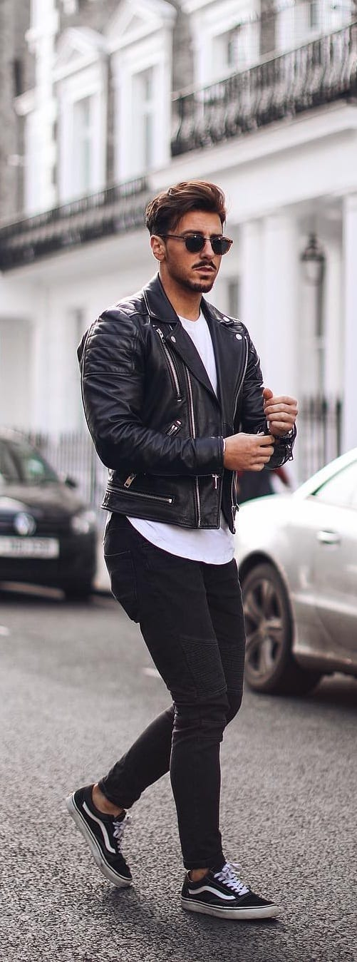 Trendy Biker Jackets For Guys