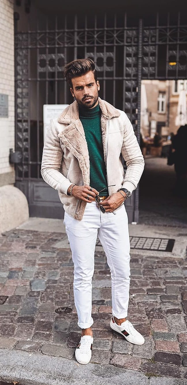 White Jeans Outfit Ideas 2019