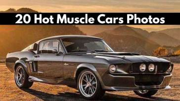20 Hot Muscle Cars