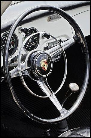 1964 Porsche 356 Cabriolet interior