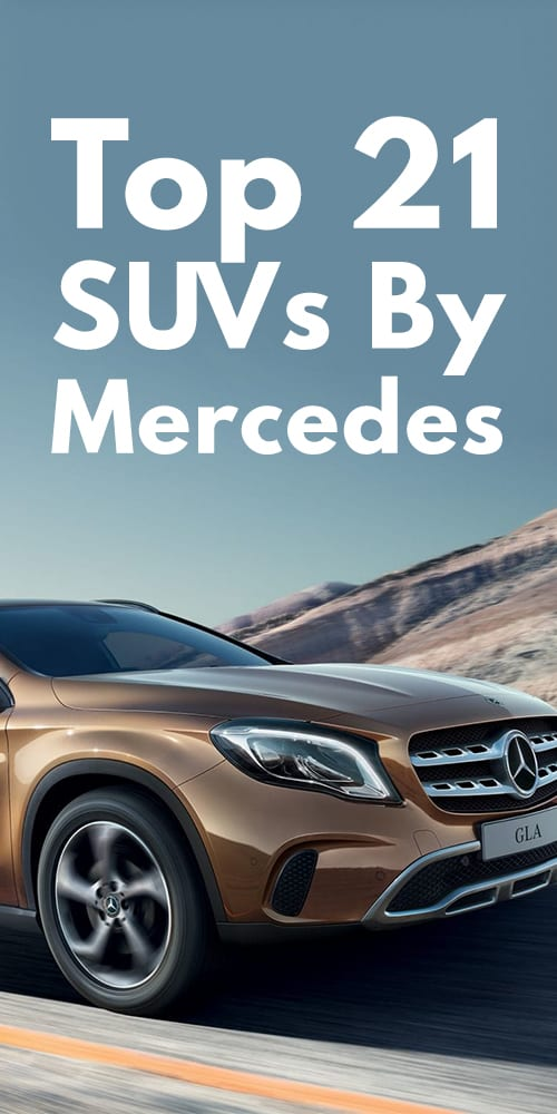 21 SUV By Mercedes