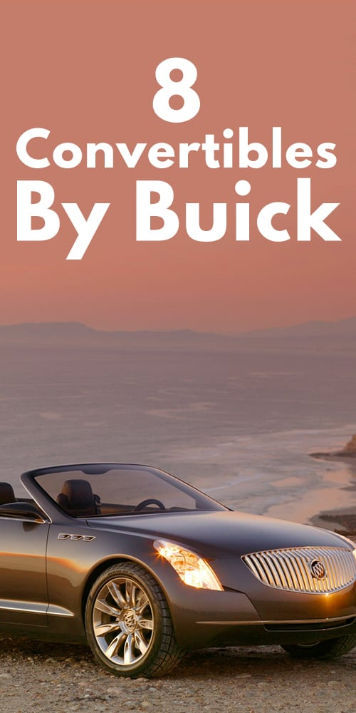All Convertibles By Buick