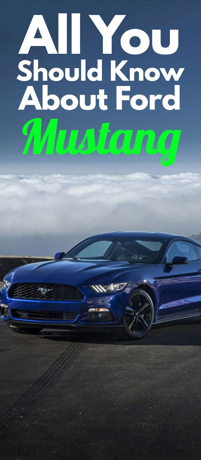 All You Should Know About Ford MUSTANG.