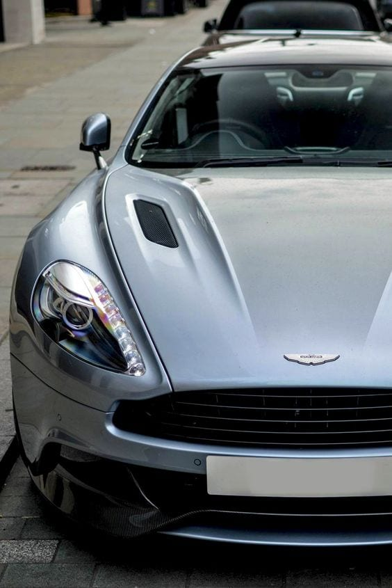 Aston Martin grey wallpaper
