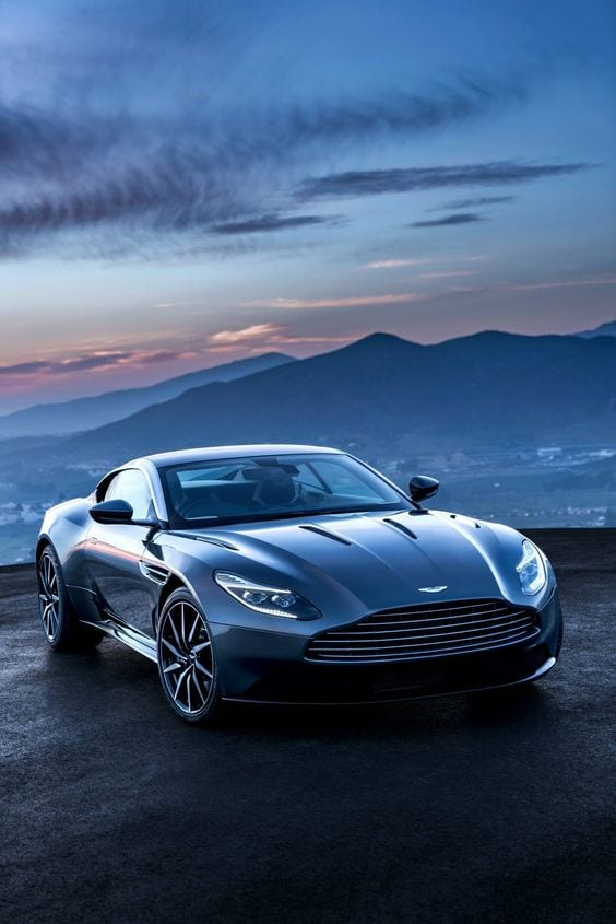 Aston martin blue wallpaper