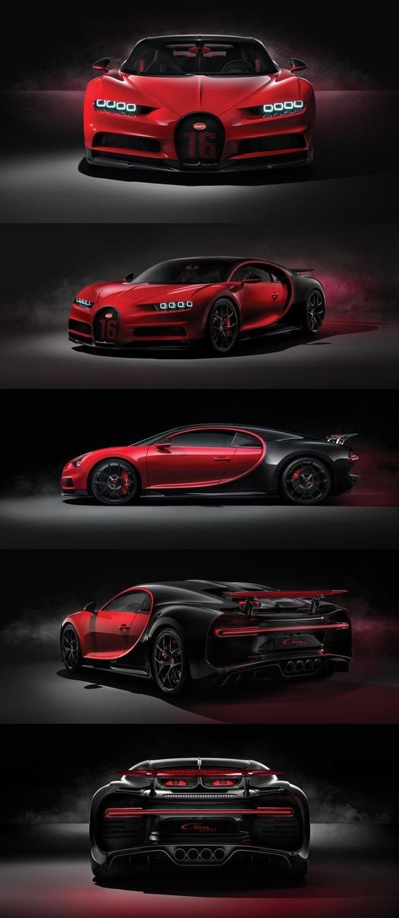 BUGGATI CHIRON SPORT LUXURY CAR