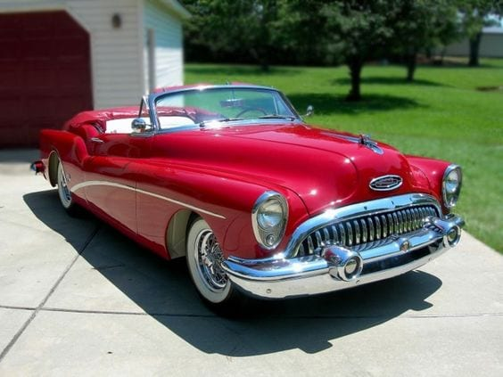 BUICK SKYLARK RED CAR