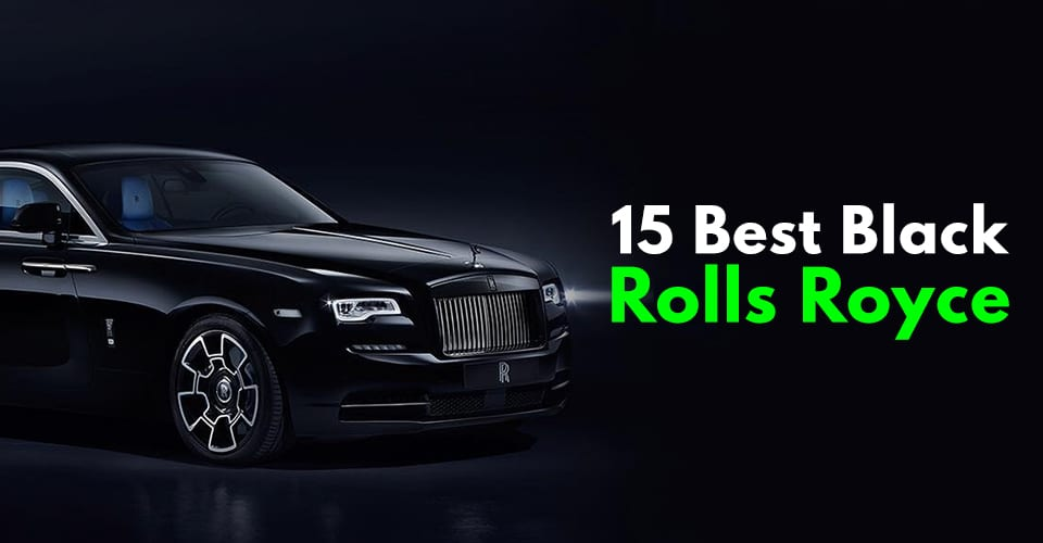 Black Rolls Royce Photos You Will Fall In Love.
