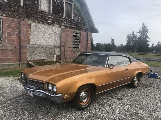 Buick Rally Gold SKYLARK