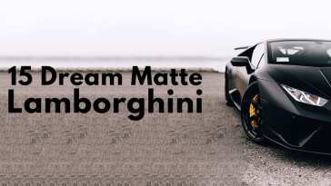 Dream Matte Lamborghini Photos.