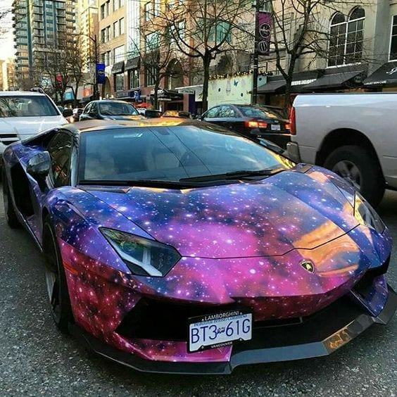 23 Fancy Galaxy And Chrome Lamborghini That You Shouldn't Miss