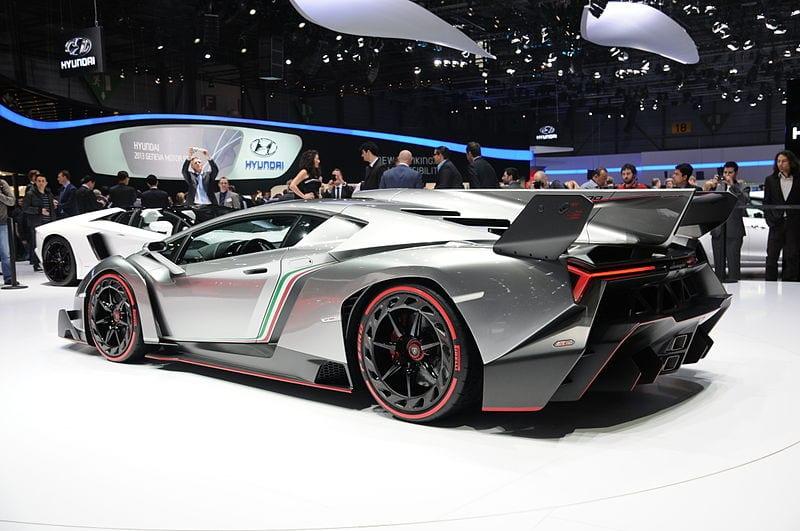 Lamborghini Veneno Car