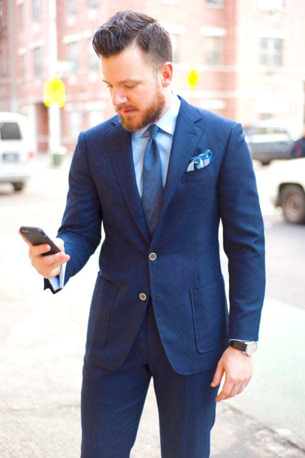 Light Blue shirt,Blue Lounge Suit,Blue tie for men
