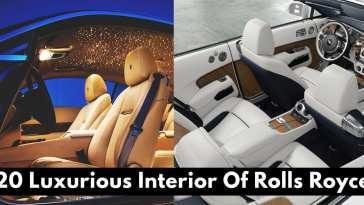 Luxurious Interior Of Rolls Royce!