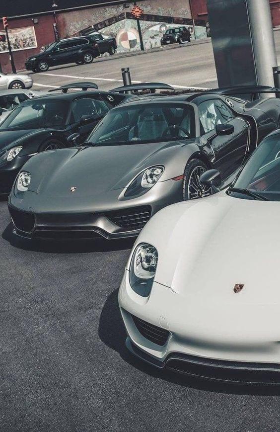 Porsche 918 Spyder WALLPAPERS
