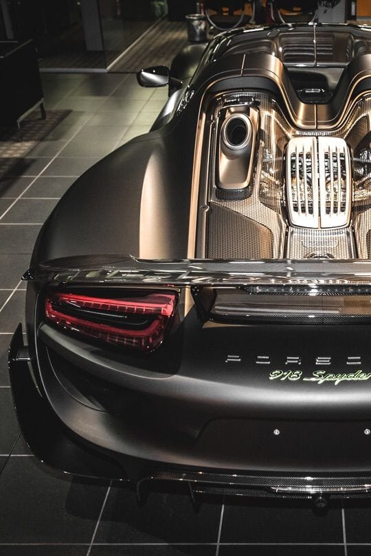 Porsche 918 spyder GOLD WALLPAPERR