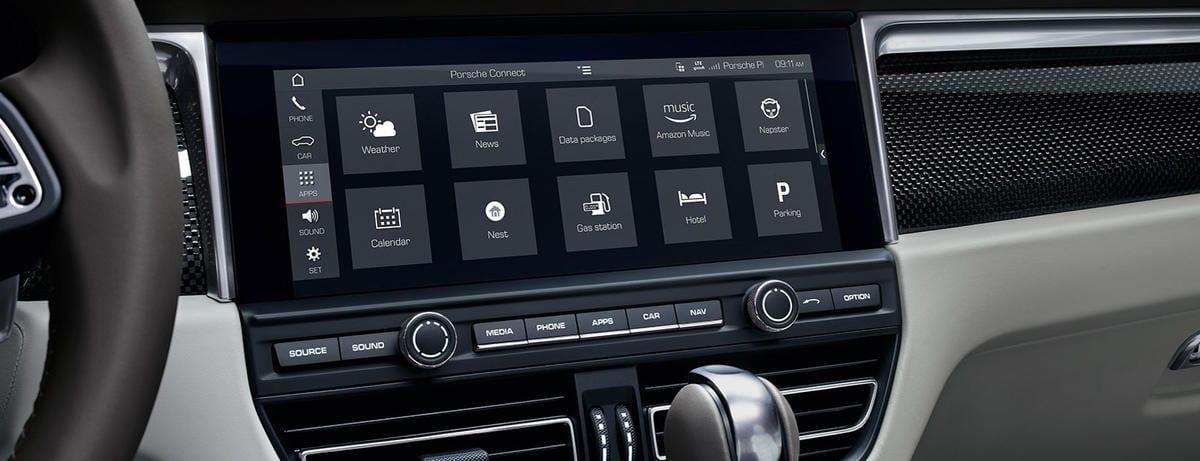 Porsche Connect Interior