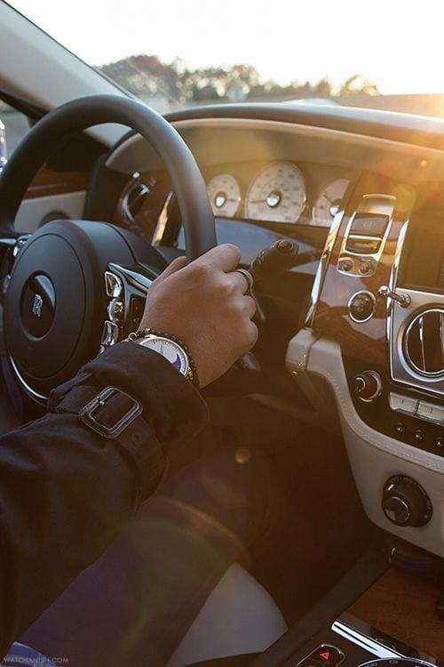 ROLLS ROYCE INTERIOR WHEEL