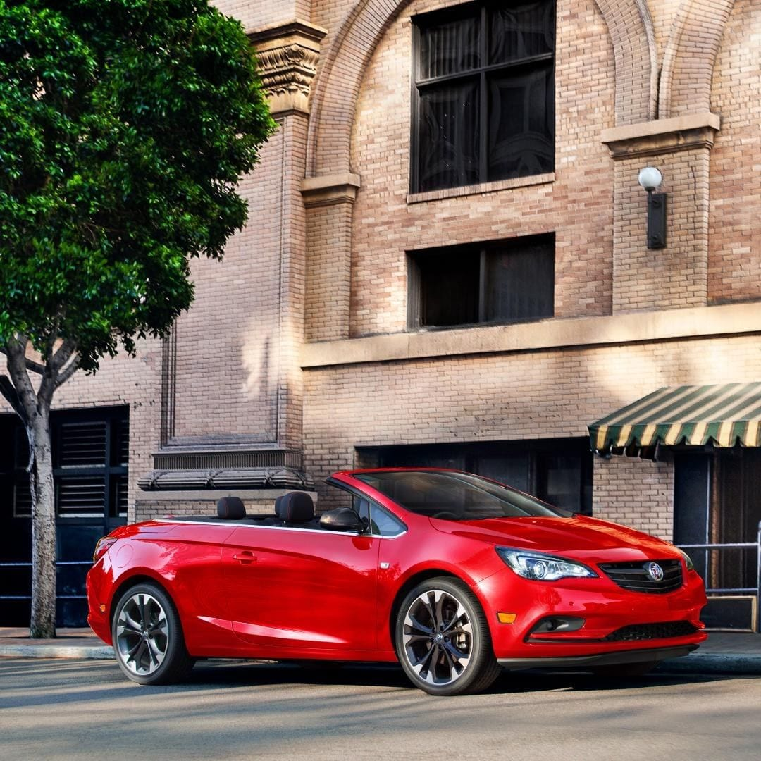 Red Sports Buick Cascada Convertible