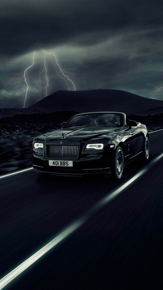 Rolls Royce Dawn Black Badge wallpaper