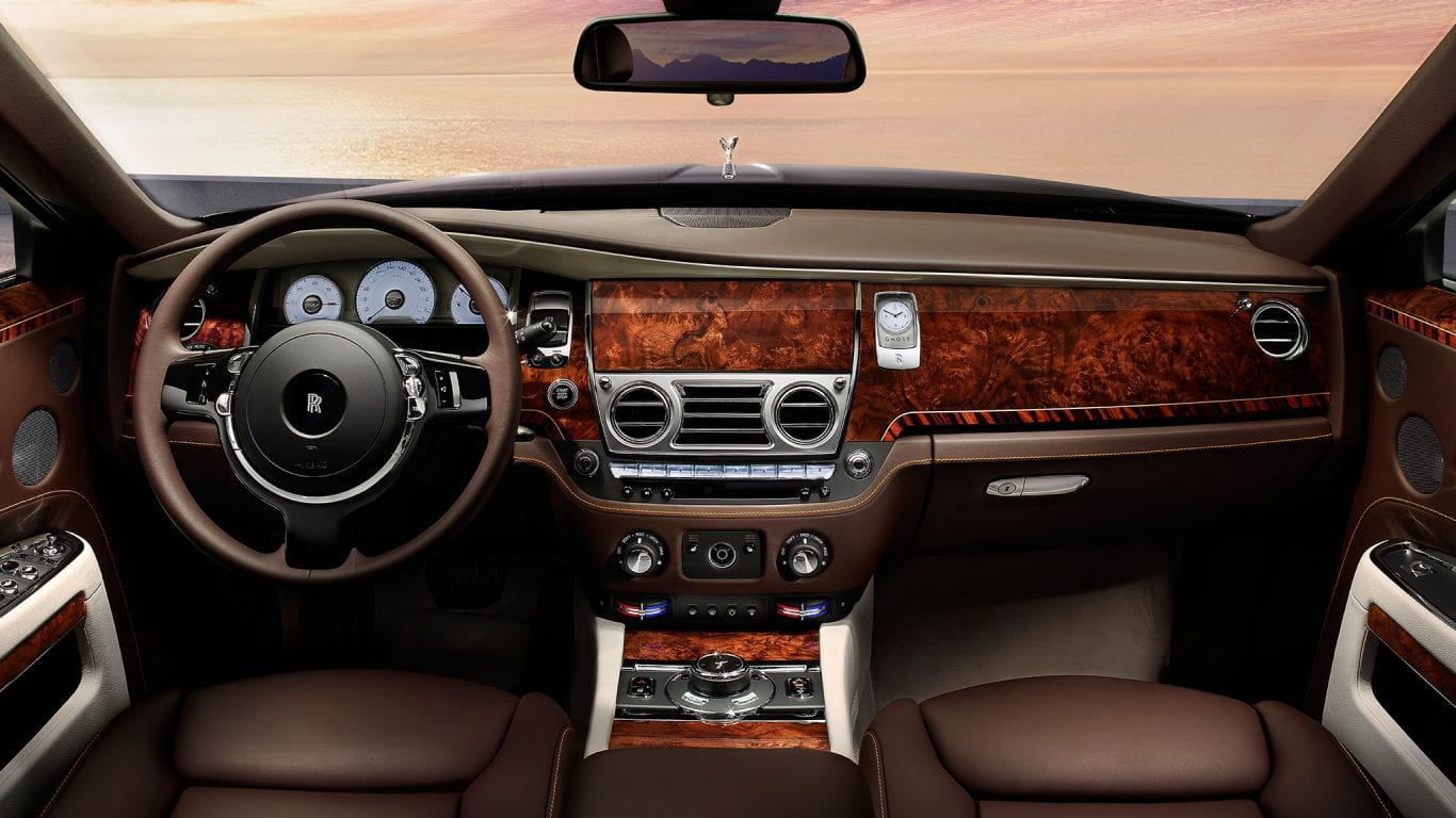 Rolls Royce Ghost Interiors