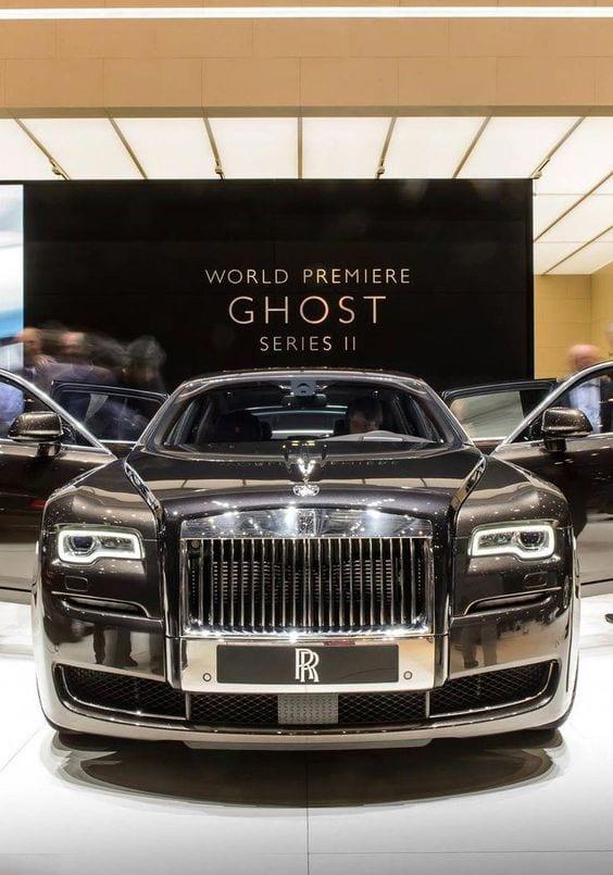 Rolls Royce Ghost chrome