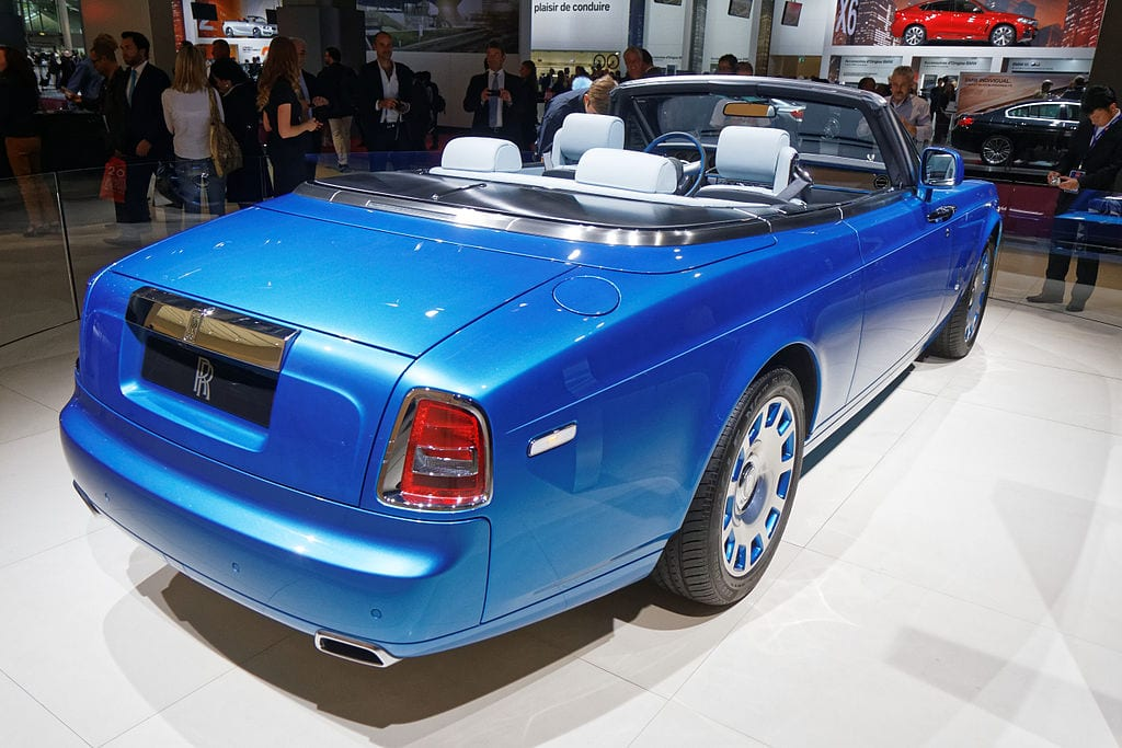 Rolls-Royce Phantom Drophead coupé (Series II)
