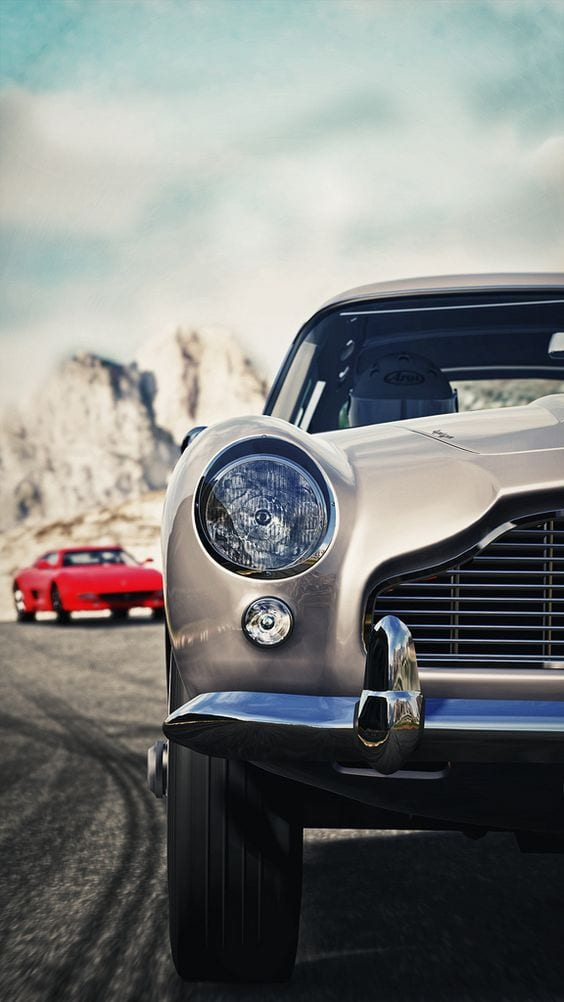 Aston martin vintage car wallpaper