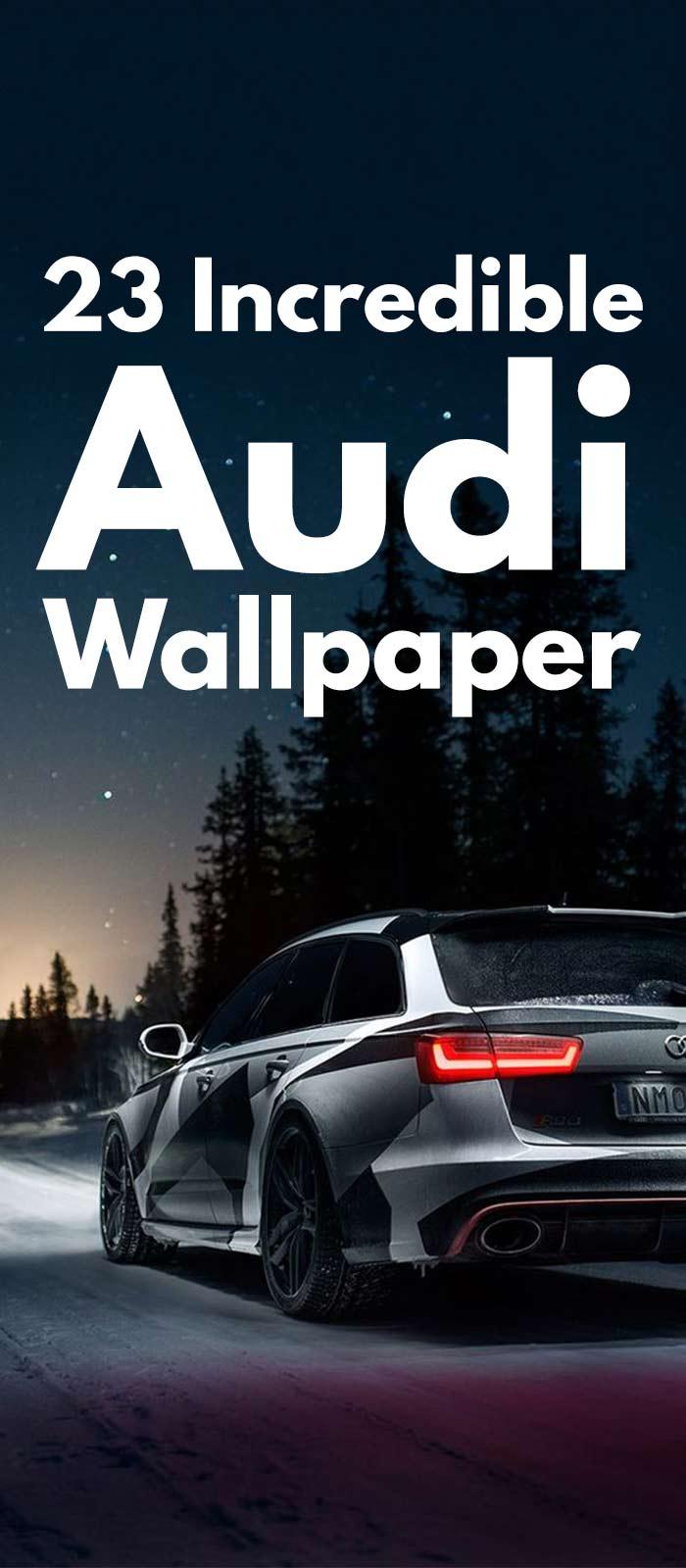 23 Incredible Audi Cars Wallpaper Images!