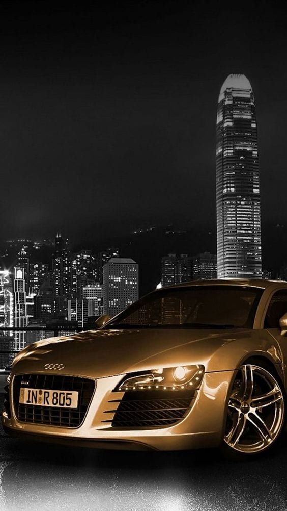AUDI GOLD WALLPAPER