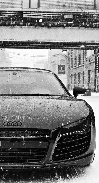 AUDI SNOW WALLPAPER