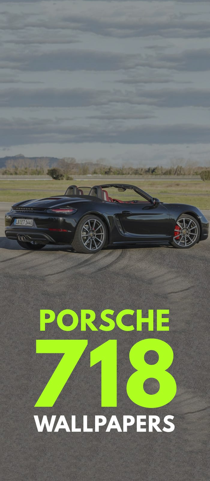 Porsche 718 Black!