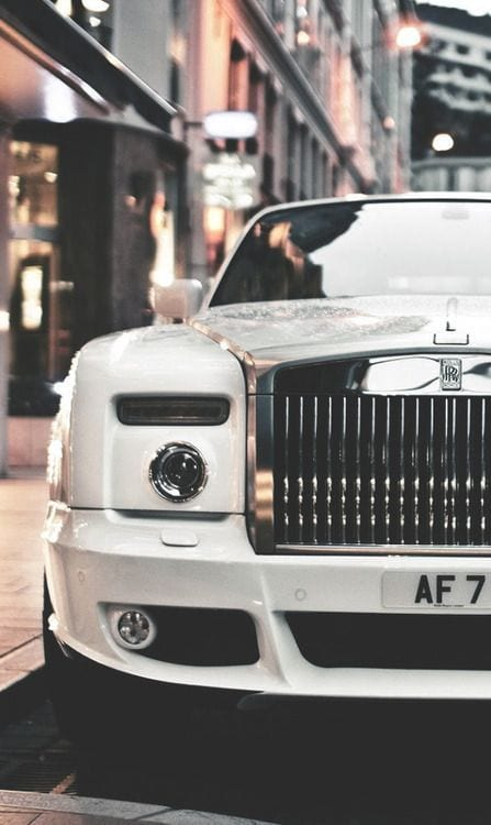 ROLLS ROYCE WHITE CITY WALLPAPER