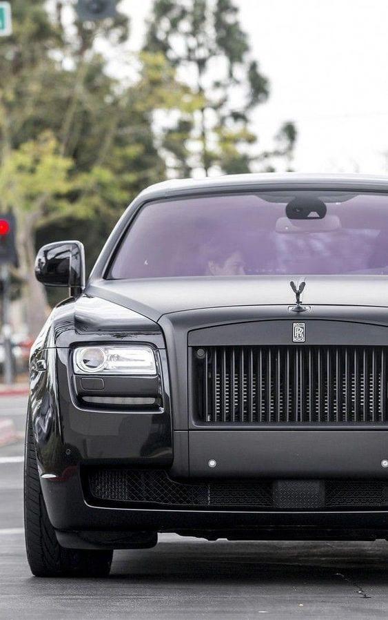 Rolls Royce Ghost matte