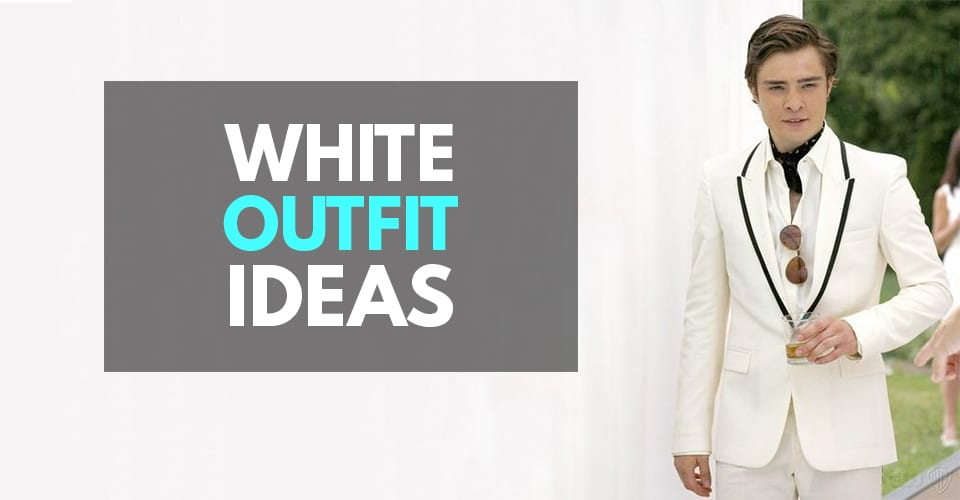White suit outfit ideas for men