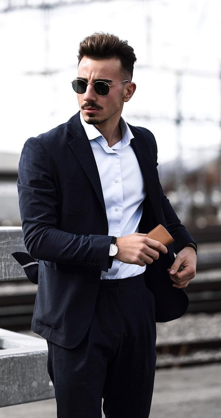 Mens Business Casual Clothing style