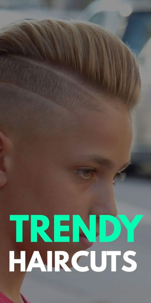 Tendances coiffures pour les garçons
